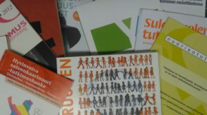 Julkaisujani.   Some of my publications.